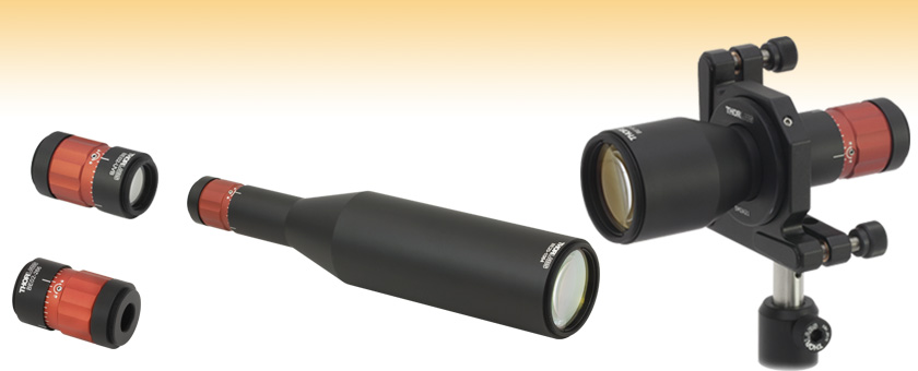 Fixed Magnification Beam Expanders Uv Fused Silica