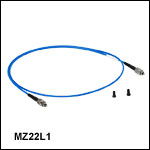 Ø200 µm纤芯,0.20 NA的氟化锆中红外光纤跳线