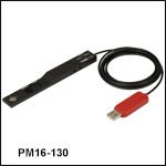Compact USB Power Meter with Slim Photodiode Sensor